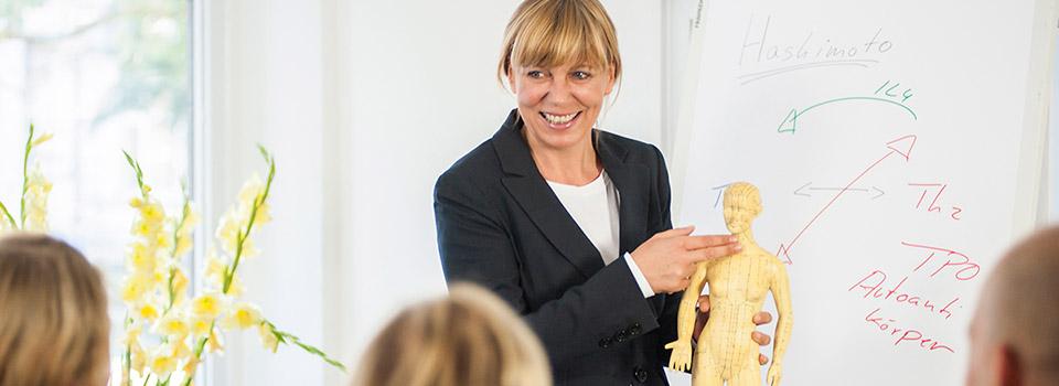 Vortrag rund um Gesundheit in der Naturheilpraxis Rodeck